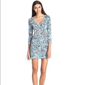 Lilly Pulitzer Juliet Fitted V Neck Dress